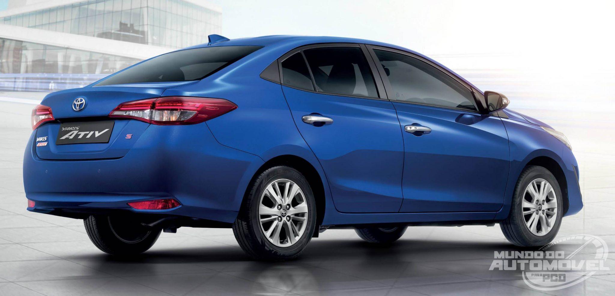 Toyota Yaris Ativ - Possível Substituto do Corolla GLI ...