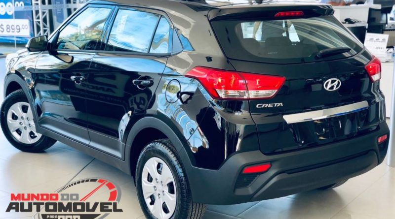 Hyundai Creta Attitude 1.6 AT 2019 para PCD – Fotos, Preço e Equipamentos