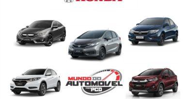 Lista de carros Honda disponíveis para PCD em 2018
