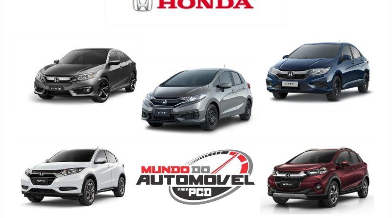 Lista de carros honda disponveis para pcd em 2018 mundo do honda lista noticias stopboris Gallery