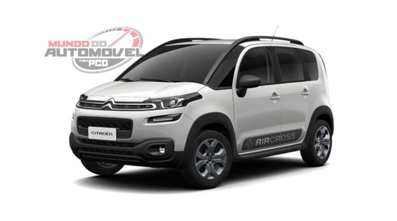 Citroën Aircross Live Auto6(PcD) 2018 –  Preço, Fotos e Especificações Oficiais.