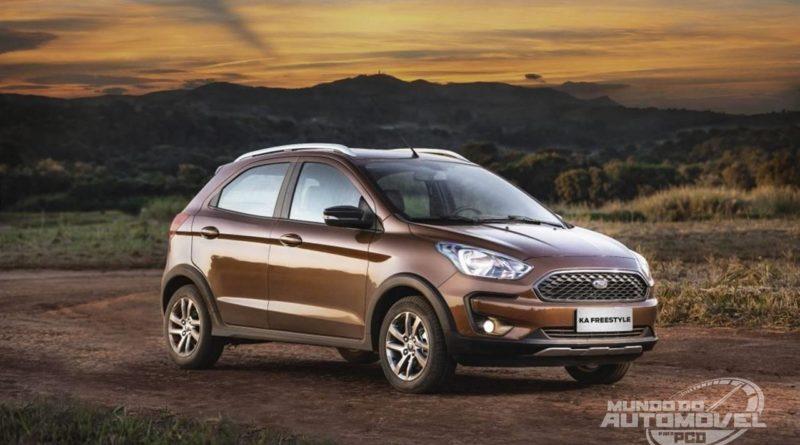 Ford Ka Freestyle  Automatico Chega Com Preco Sugerido De R   Mundo Do Automovel Para Pcd