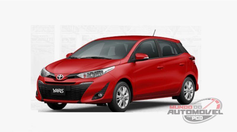 Toyota Yaris hatch XL Plus Tech CVT para PCD – Preço, Fotos e Detalhes