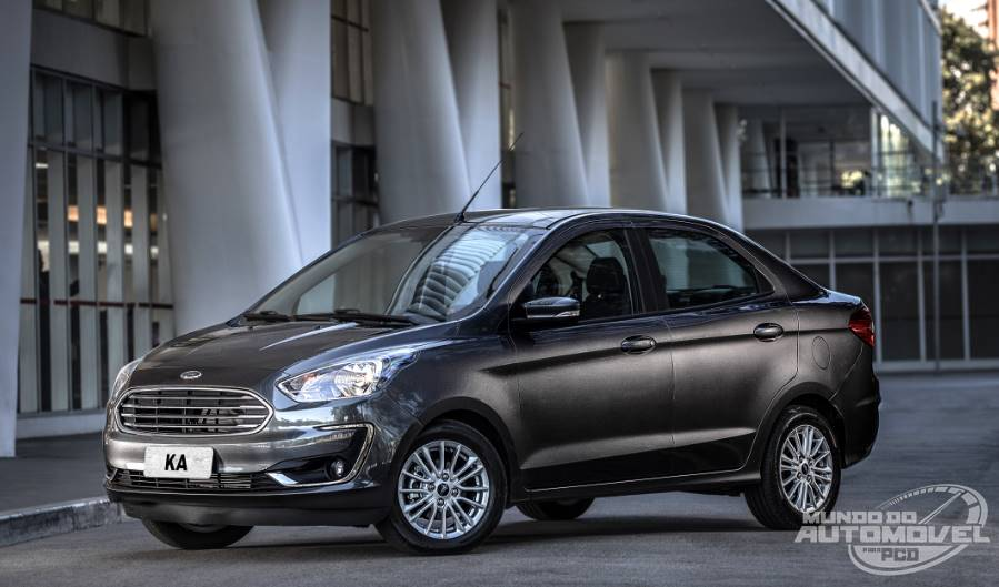 Ka Sedan Se Plus   Automatico Preco Publico   Preco Para Pcd