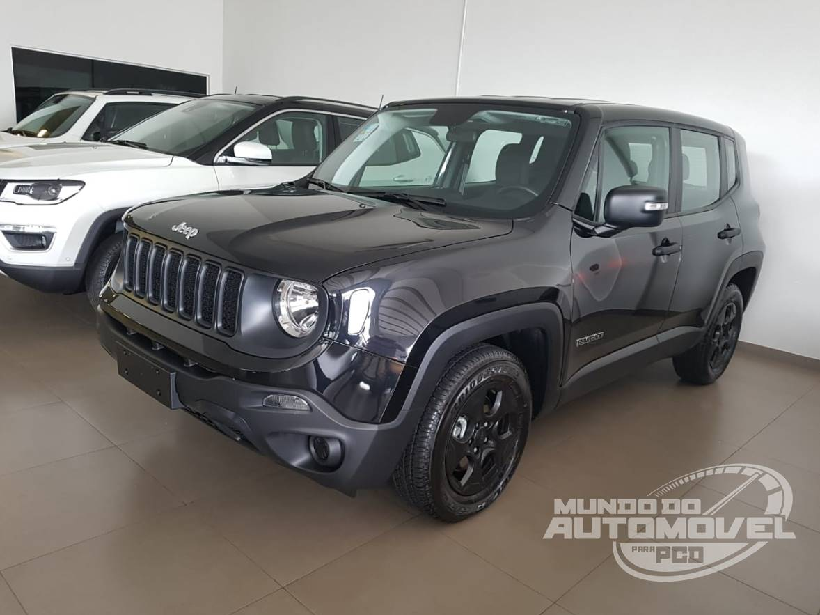 Jeep Renegade Pcd 1 8 At 2019 Fotos Preco E Especificacoes