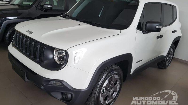 Jeep Renegade PcD 1.8 AT 2019 – Fotos, Preço e Especificações