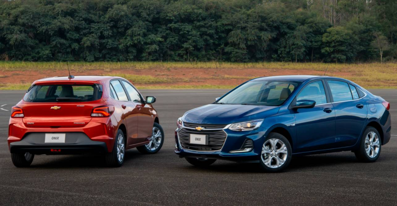 Comparativo: Chevrolet Onix Hatch LTZ Turbo x Chevrolet Onix Plus LT Turbo