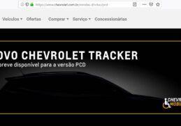 chevrolet tracker pcd