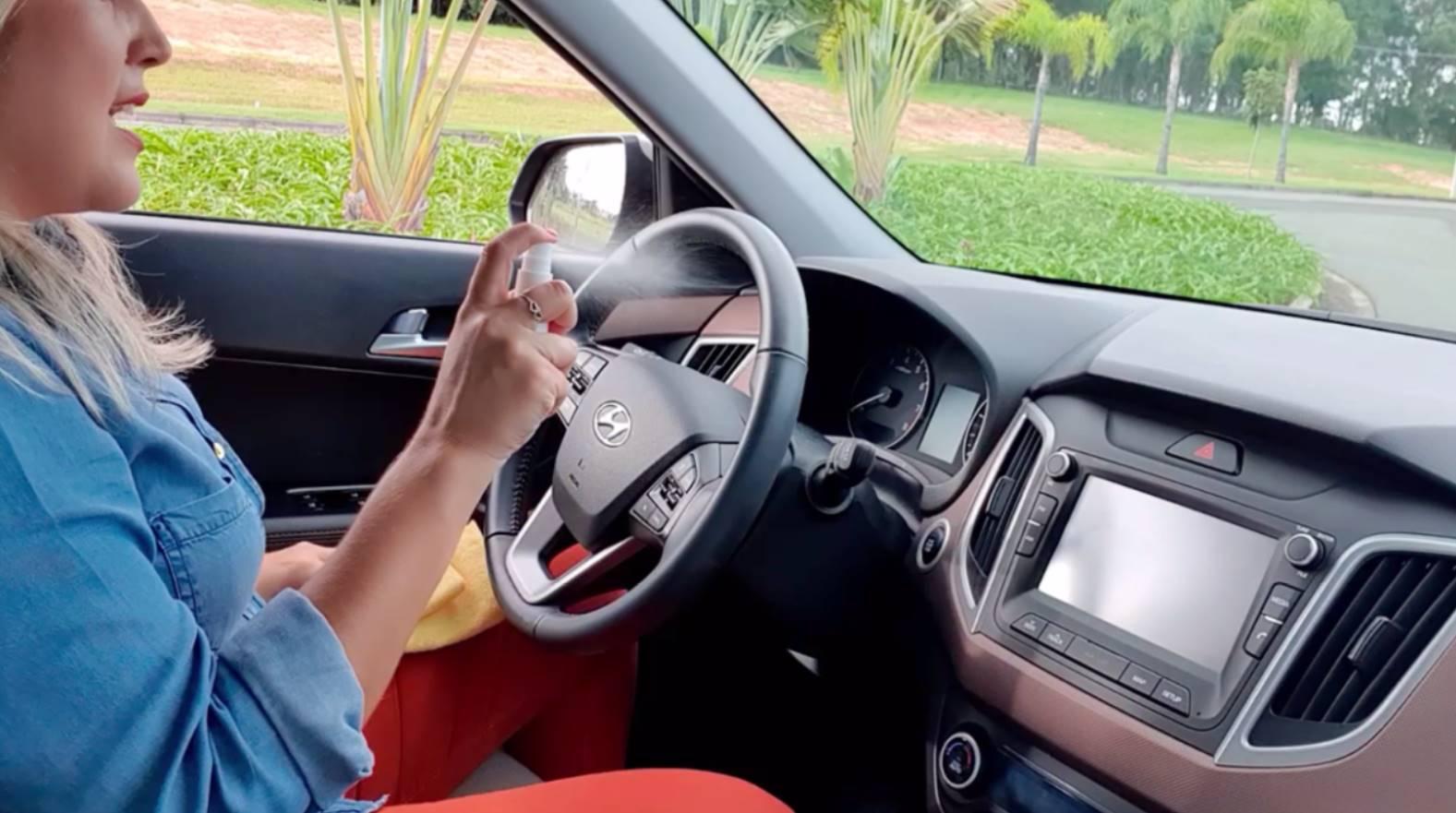 Veja dicas de como se proteger do coronavírus no carro