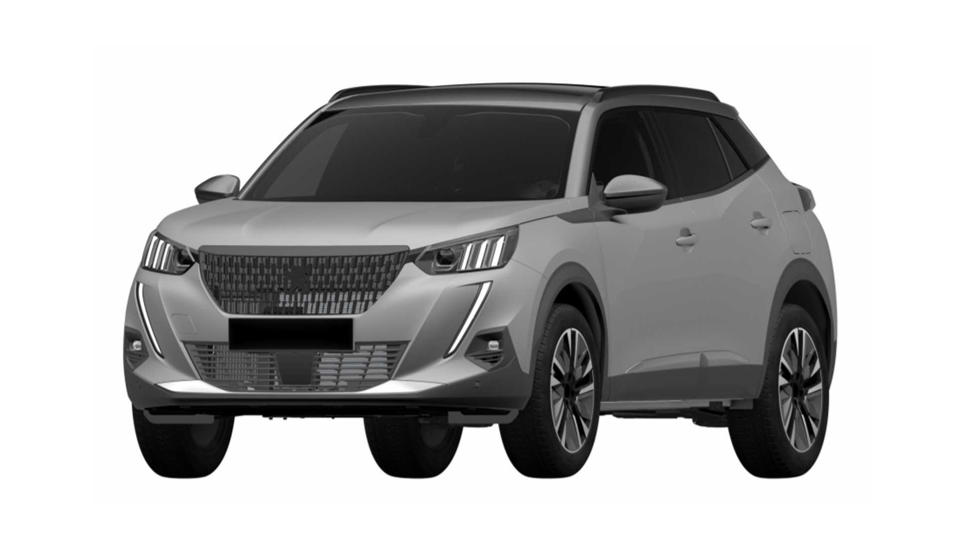 Peugeot registra patentes do novo 2008 no Brasil