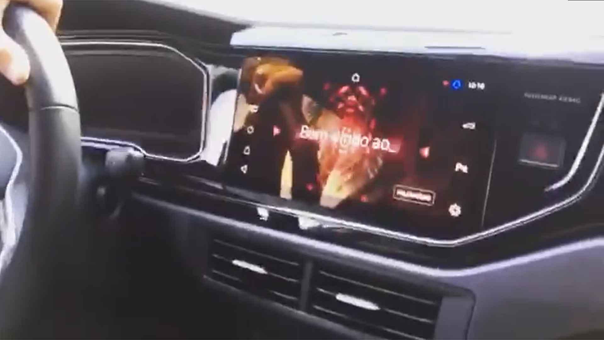 Vídeo revela painel do novo Volkswagen Nivus