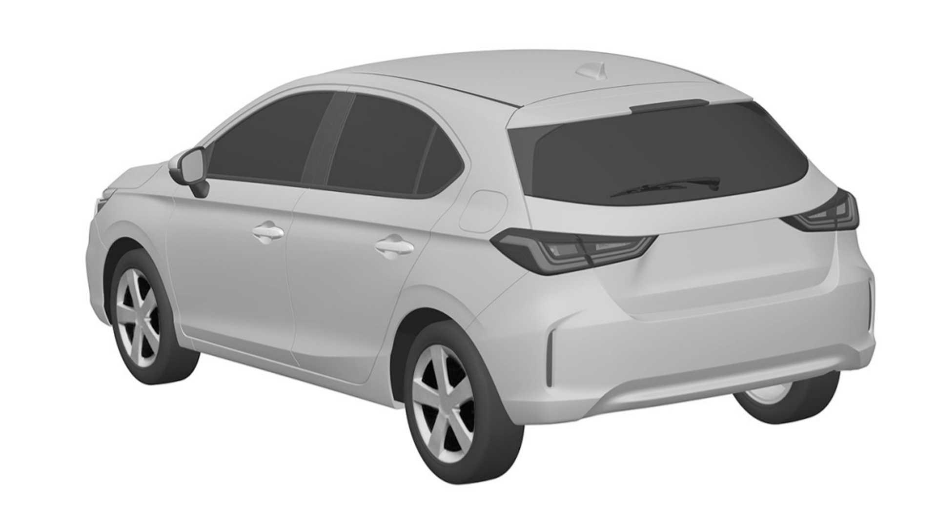 Novos Honda Fit Crosstar, City Hatch e City Sedan são registrados no Brasil | Mundo do Automóvel para PCD