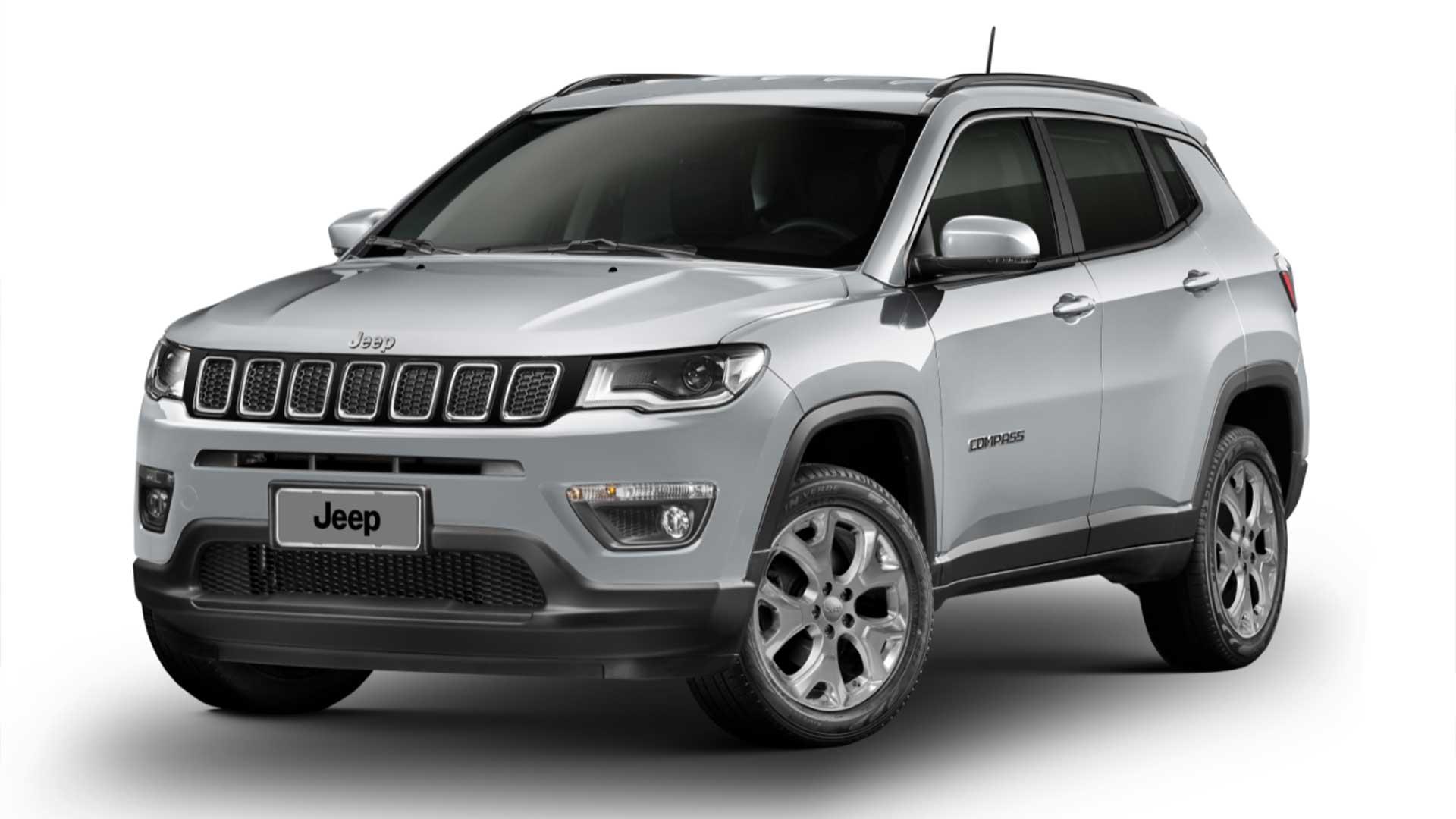 Jeep Compass alcança 200 mil unidades vendidas no Brasil