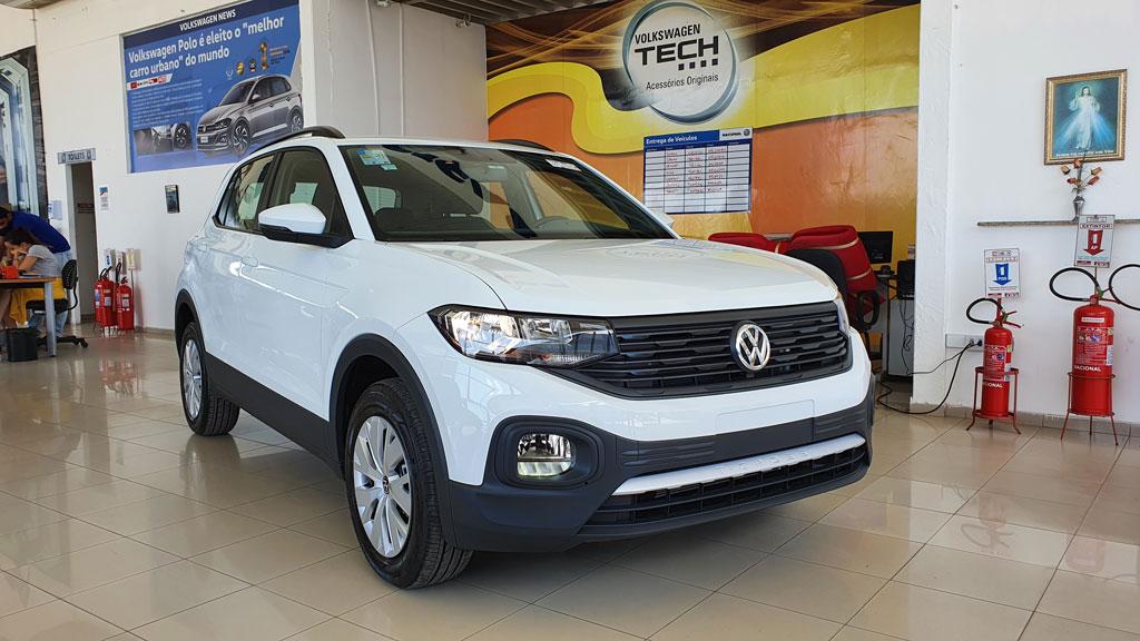 Volkswagen T-Cross foi o SUV mais vendido em 2020