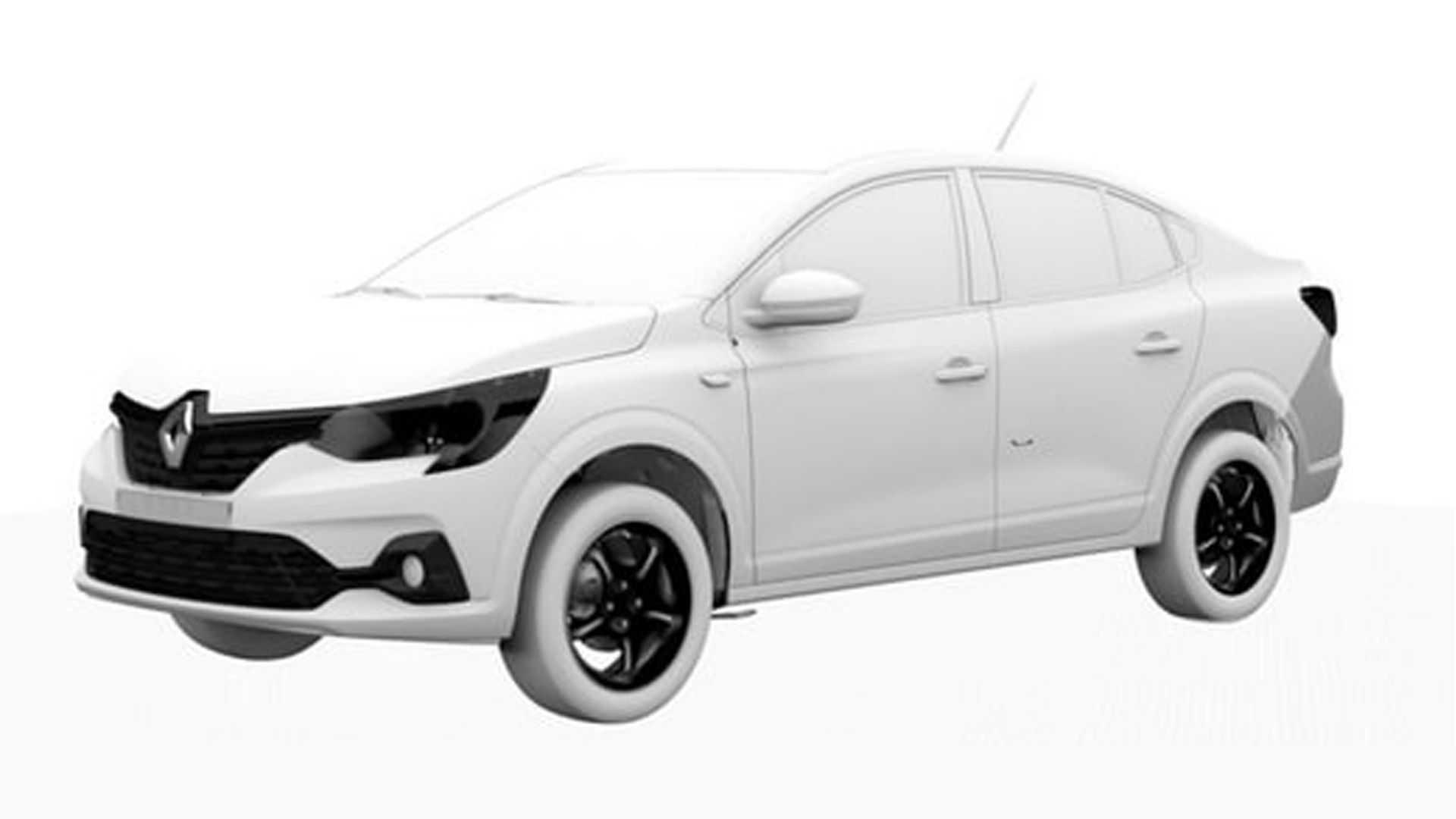 Novo Renault Logan aparece em patentes com possível novo nome