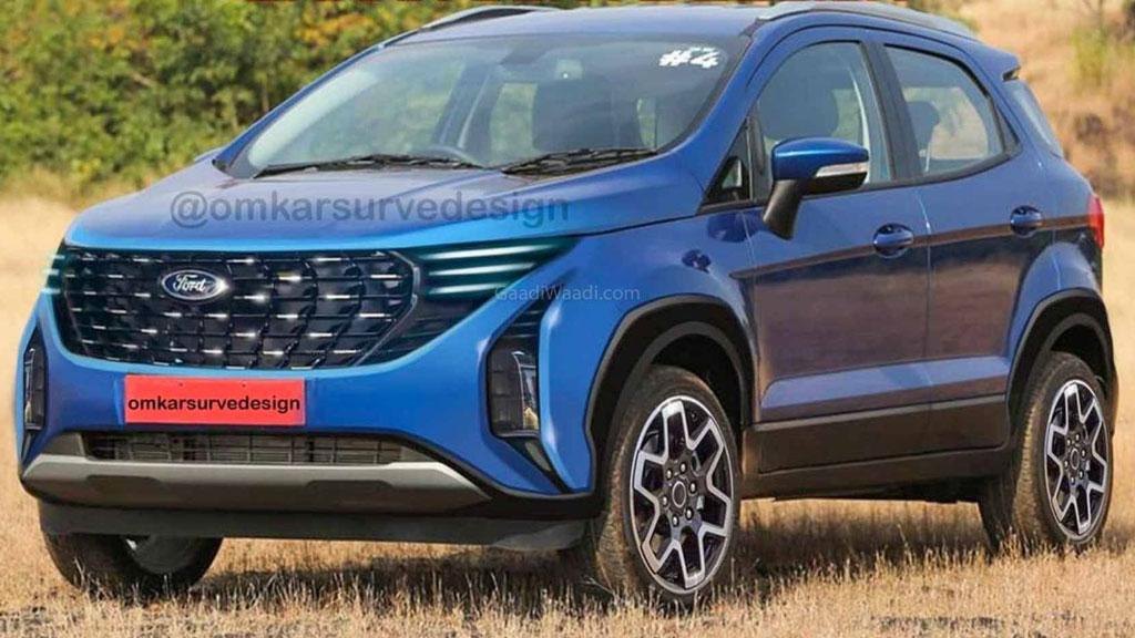 Novo Ford EcoSport ganha projeção baseada em flagra