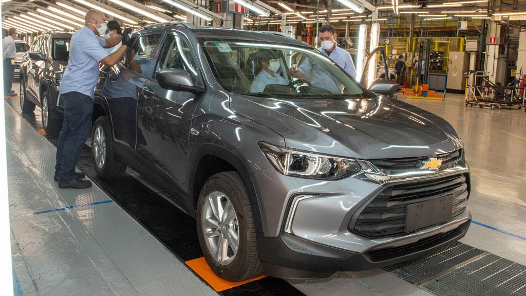 Chevrolet alcança a marca de 17 milhões de carros produzidos no Brasil