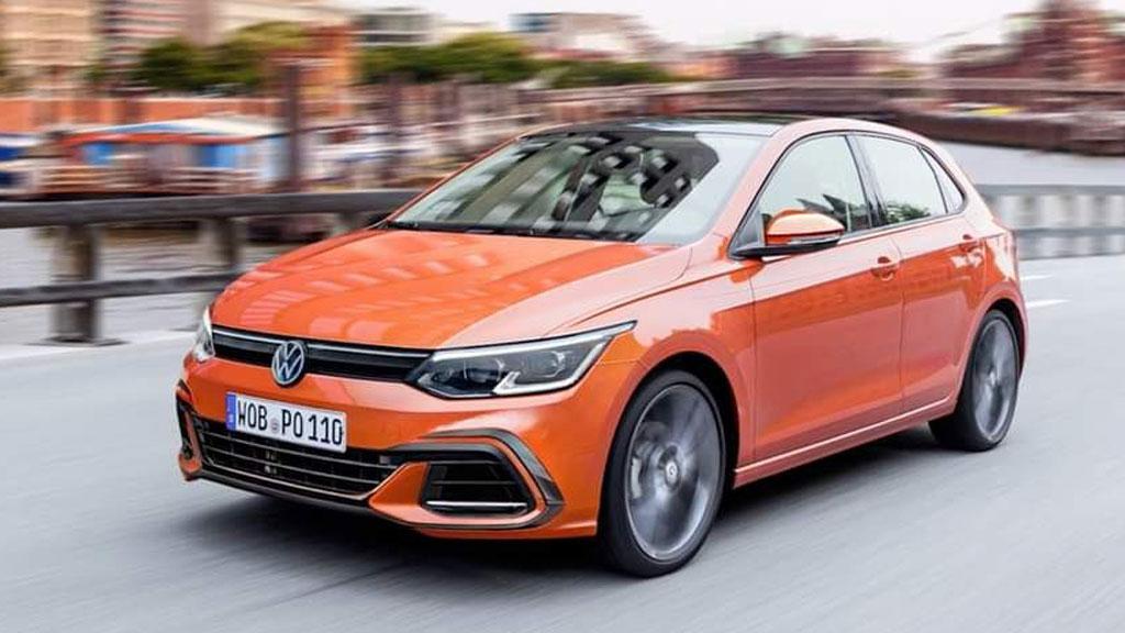 Reestilização do Volkswagen Polo aparece em projeção
