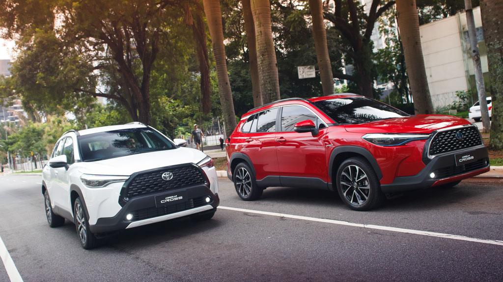 Toyota Corolla Cross 2022 (XRE Flex e XRX Híbrido)