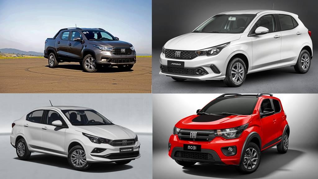 Os carros mais vendidos em junho de 2021